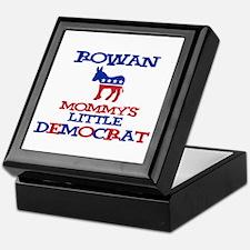Rowan - Mommy's Little Democr Keepsake Box
