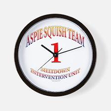 Aspie Squish Team Wall Clock