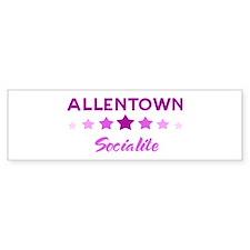 ALLENTOWN socialite Bumper Bumper Sticker