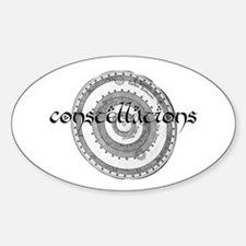 constellations Oval Decal