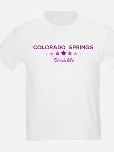COLORADO SPRINGS socialite T-Shirt
