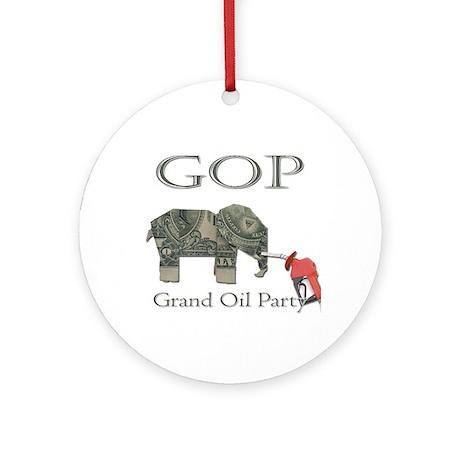 Grand Oil Party | GOP | Republican Party Keepsake