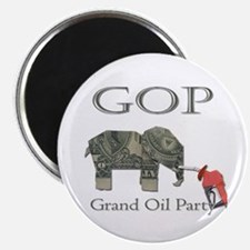 Grand Oil Party | GOP | Republican Party Magnet