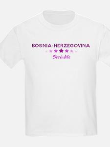 BOSNIA-HERZEGOVINA socialite T-Shirt