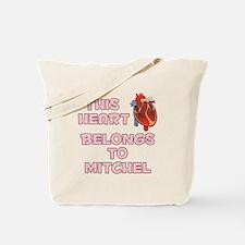 This Heart: Mitchel (C) Tote Bag