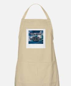 """Surfer Playing Gynecologist Today"" BBQ Apron"