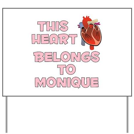 This Heart: Monique (C) Yard Sign