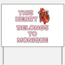 This Heart: Monique (C) Yard Sign