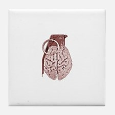 Mind Over Matter Tile Coaster