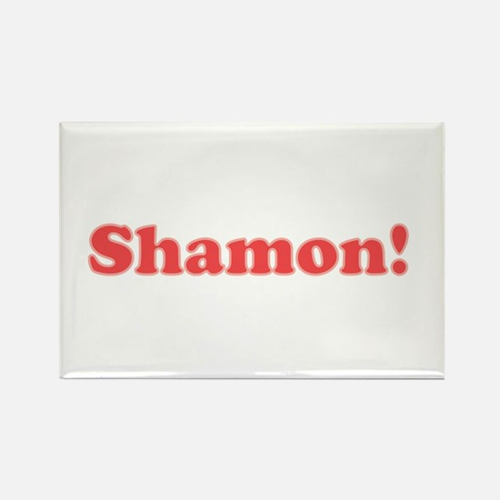 Shamon button Magnets