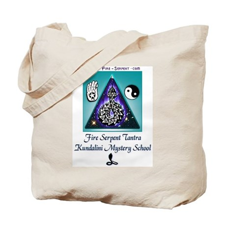 Tote Bag with FSt logo front and back.