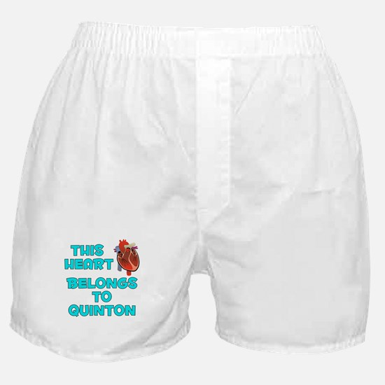This Heart: Quinton (B) Boxer Shorts