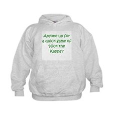 Kick the Kappa Green Hoodie