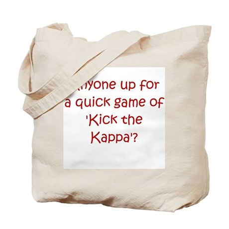 Kick the Kappa Red Tote Bag