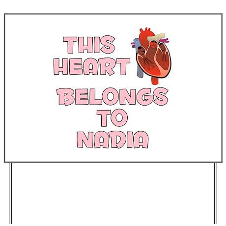 This Heart: Nadia (C) Yard Sign