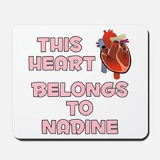 This Heart: Nadine (C) Mousepad