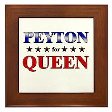 PEYTON for queen Framed Tile