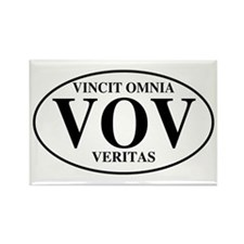 Truth Conquers All Rectangle Magnet (100 pack)