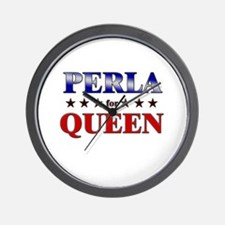 PERLA for queen Wall Clock