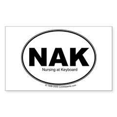NAK Rectangle Decal