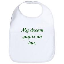 Dream Guy Inu Green Bib