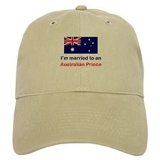 Married To Australian Prince Baseball Cap