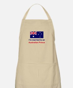 Married To Australian Prince BBQ Apron