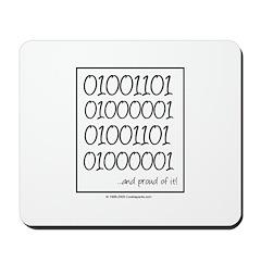 Binary Mama Mousepad
