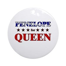 PENELOPE for queen Ornament (Round)