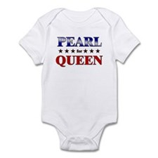 PEARL for queen Infant Bodysuit