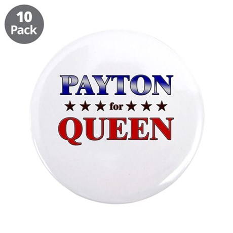 """PAYTON for queen 3.5"""" Button (10 pack)"""