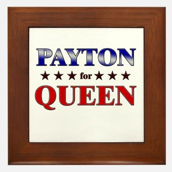 PAYTON for queen Framed Tile