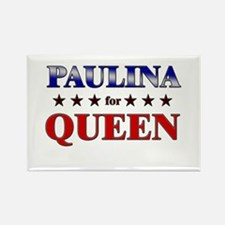 PAULINA for queen Rectangle Magnet