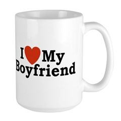 I Love My Boyfriend Mug