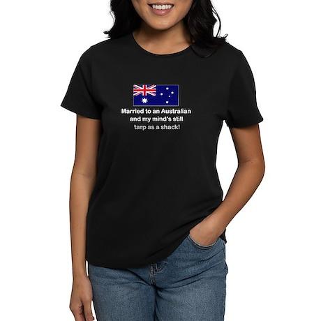 Married To Australian Women's Dark T-Shirt
