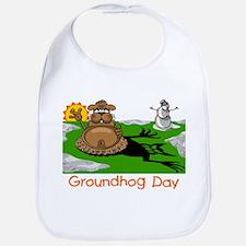 GROUNDHOG DAY Bib