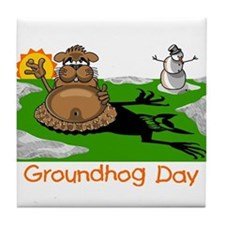 GROUNDHOG DAY Tile Coaster