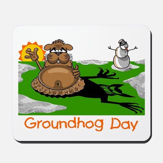 GROUNDHOG DAY Mousepad