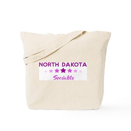 NORTH DAKOTA socialite Tote Bag