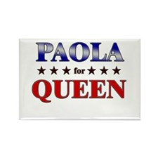 PAOLA for queen Rectangle Magnet