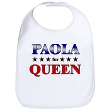 PAOLA for queen Bib
