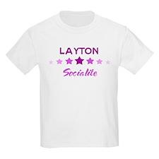 LAYTON socialite T-Shirt