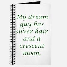 Dream Guy Silver&Crescent Gre Journal