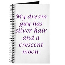 Dream Guy Silver&Crescent Pur Journal