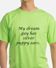 Dream Guy Silver Puppy Ears B T-Shirt