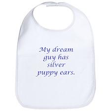 Dream Guy Silver Puppy Ears B Bib