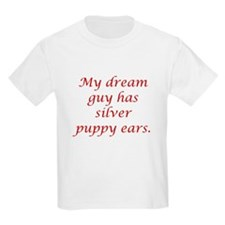 Dream Guy Silver Puppy Ears R T-Shirt