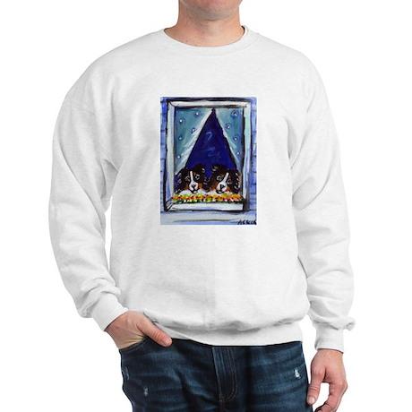 AUSTRALIAN SHEPHERD window Sweatshirt