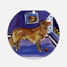 Nova Scotia Duck-Tolling Retriever Ornament (Round