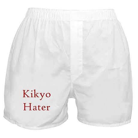 Kikyo Hater Red Boxer Shorts